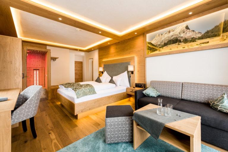 Schlafzimmer-Hotelzimmer